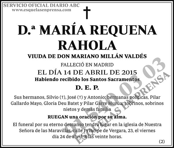 María Requena Rehola